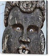 St Augustine Blue Eyes Acrylic Print