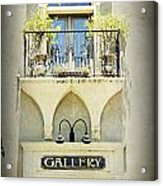 St. Augustine Gallery Acrylic Print