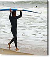St Augustine Surfer Four Acrylic Print