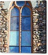 St. Augustine Window Acrylic Print