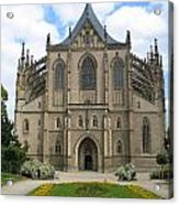 St Barbaras Cathedral Kutna Hora Czech Republic Acrylic Print