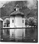 St. Batholomae At The Lake Acrylic Print