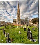 St Beuno Church Acrylic Print by Adrian Evans
