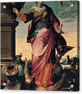 St Catherine Of Alexandria, 1570 - 1611 Acrylic Print