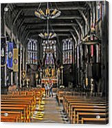 St. Catherine's Of Honfleur Acrylic Print