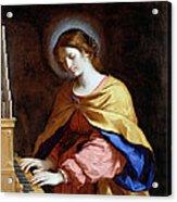 St Cecilia Acrylic Print