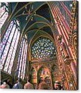 St. Chapel Acrylic Print