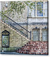 St. Charles Ave Baptist Church New Orleans Acrylic Print