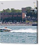 St. Clair Michigan Usa Power Boat Races-4 Acrylic Print
