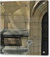 St. Cross College Acrylic Print