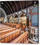 St David Church Acrylic Print