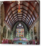 St David's Acrylic Print by Adrian Evans