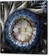 St Davids Cathedral Roof Acrylic Print