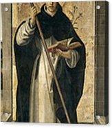 St. Dominic De Guzman Acrylic Print