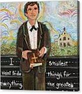 St Dominic Savio Acrylic Print