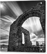 St Dwynwen's Church Acrylic Print by Dave Bowman