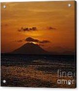 St Eustatius Acrylic Print