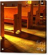 St Francis De Paula Shadow And Light Acrylic Print