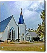 St. Francis Front Cropped 2 Acrylic Print