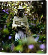 St. Francis Of Assisi Acrylic Print by Tara Miller