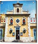 St. Francis Xavier Chapel Macau Acrylic Print