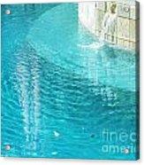 St Francisville Inn La Pool Acrylic Print
