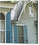 St Francisville Inn Windows Louisiana Acrylic Print
