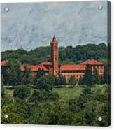 St. Gabriel's From Valley Forge Acrylic Print