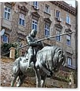 St. George Sculpture Acrylic Print