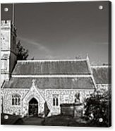 St Georges Church Preshute Acrylic Print