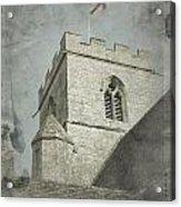 St Georges Flag  Acrylic Print