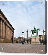 St Georges Hall, Liverpool, Merseyside Acrylic Print