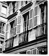 St Germain Des Pres Acrylic Print