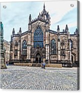 St. Giles Cathedral Acrylic Print