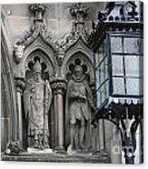 St Giles Church Statues 6600 Acrylic Print