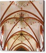 St Goar Organ And Ceiling Acrylic Print