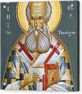 St Gregory The Theologian Acrylic Print