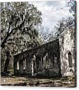 St Helena Chapel Of Ease 1  Acrylic Print by Steven  Taylor
