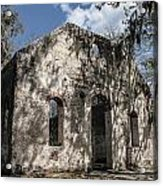 St Helena Chapel Of Ease 2 Acrylic Print by Steven  Taylor