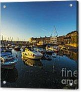 St Hellier Harbour  Acrylic Print