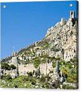 St Hilarion Castle Acrylic Print