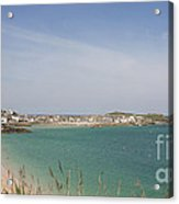 St Ives From The Train Acrylic Print