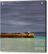 St Ives In Cornwall Acrylic Print