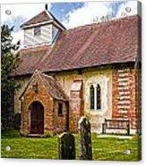 St James Ashmansworth Acrylic Print