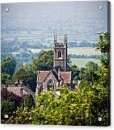 St James Church Shaftesbury Acrylic Print