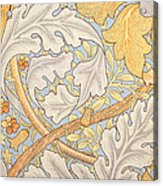St James Wallpaper Design Acrylic Print by William Morris