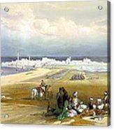 St. Jean D'acre April 24th 1839 Acrylic Print