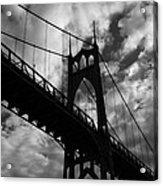 St Johns Bridge Acrylic Print