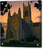 St Johns Cathedral - Spokane Acrylic Print