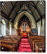 St Johns Church Acrylic Print by Adrian Evans